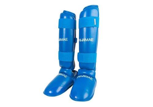 Fuji Mae Scheenbeschermers met verwijderbare voetbeschermer