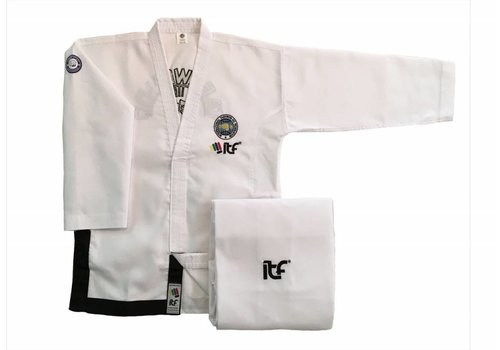 Mighty Fist ITF Approved Taekwon-Do pak/dobok Boosabum - ONYX
