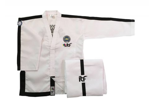 Mighty Fist ITF Approved Sabum Taekwon-Do pak / dobok ONYX