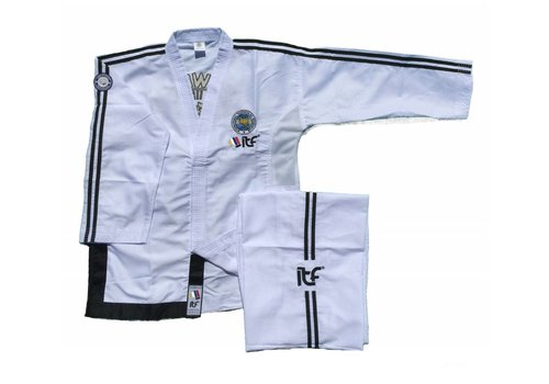 Mighty Fist ITF Approved Master Taekwon-Do pak / dobok ONYX