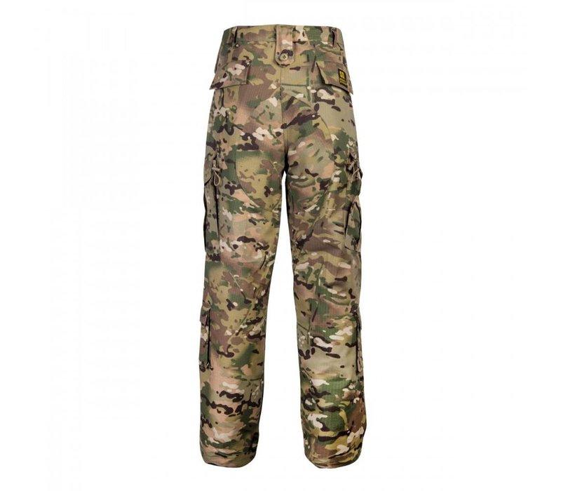 camouflage broek