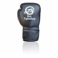 Leren bokshandschoenen met eigen logo