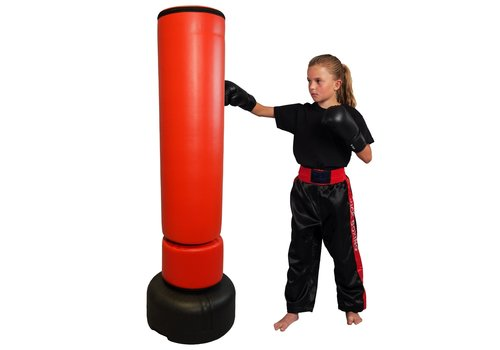 Staande Bokszak rood kind 150 cm