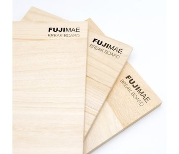 Fuji Mae Breekplanken hout L30xB22.5cm (9,12,18 mm dik)