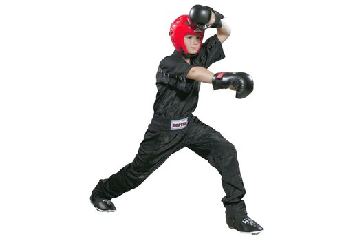 Top Ten kinder  Kickboxing broek zwart/zwart