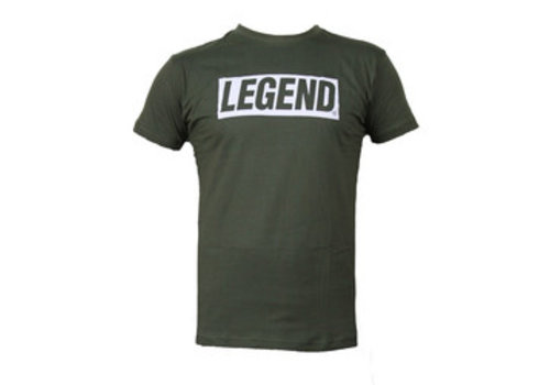 Slim-fit T-Shirt Groen  power quote