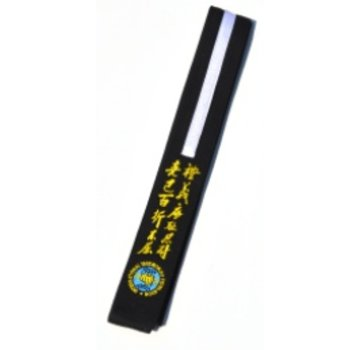 Best Fightshop Zwarte Junior ITF Taekwon-Do band borduren met naam en/of logo