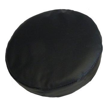Handtarget/ handpad 7 x 27 cm rond Zwart