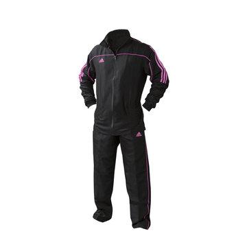 Adidas Team Track Trainingsbroek Zwart/Roze  (zonder jas)