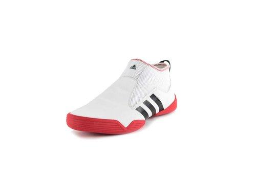 Adidas Taekwondo Schoenen The Conestant Wit/Rood Maat