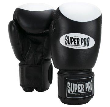 Combat Gear Boxer Pro Bokshandschoenen Klittenband Zwart/Wit 1