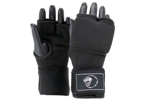 Combat Gear Binnenhandschoenen Met Bandage Zwart/Wit