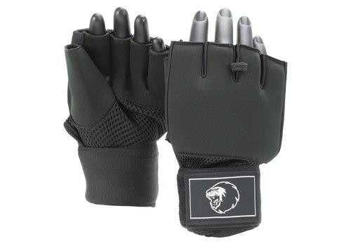 Combat Gear Mexican Wrap Binnenhandschoenen Zwart/Wit