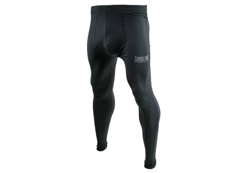 Legging Men Lion/Super Pro Logo Zwart/Grijs