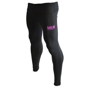Legging Women Lion/Super Pro Logo Zwart/Roze