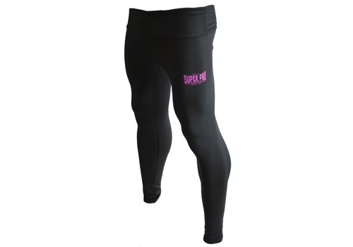 Legging Women Lion/Super Pro Logo Zwart/Roze