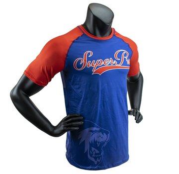 Combat Gear T-Shirt Sublimatie Challenger Blauw/Rood/Wit