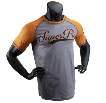 Combat Gear T-Shirt Sublimatie Challenger Grijs/Oranje/Zwart