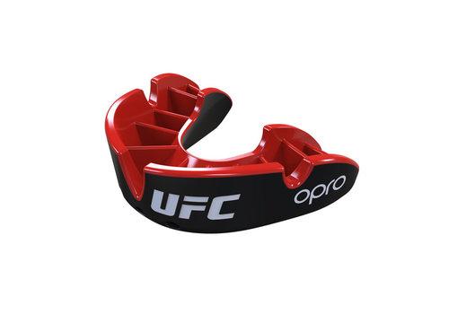 UFC OPRO x UFC Gebitsbeschermer Silver Zwart/Rood