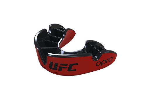 UFC OPRO x UFC Gebitsbeschermer Silver Rood/Zwart