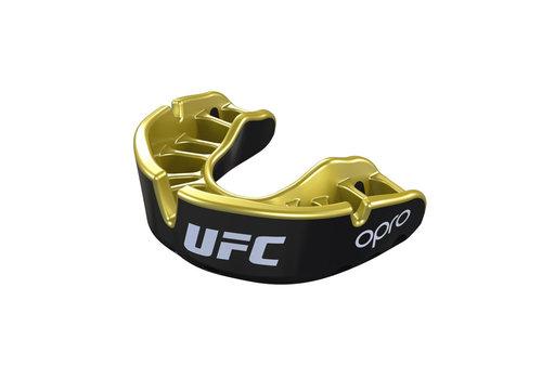 UFC OPRO x UFC Gebitsbeschermer Self-Fit Gold Zwart/Goud