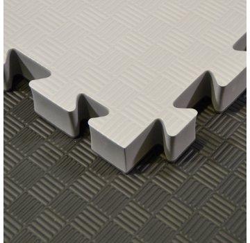 Phoenix 4 Cm Puzzelmatten zwart grijs  - Gratis verzonden