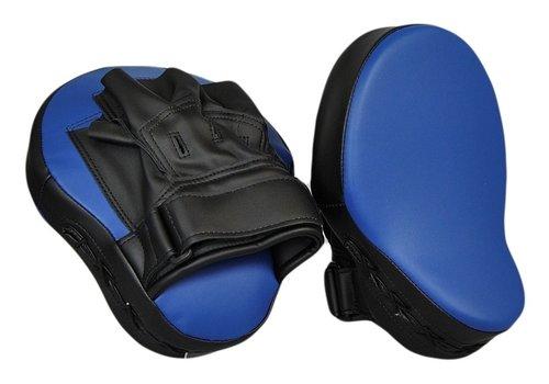 coaching mitts  zwart blauw