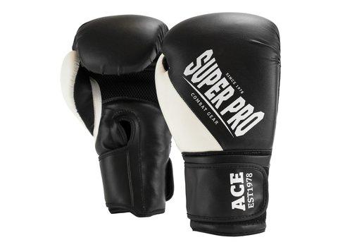 ACE (kick)bokshandschoenen Zwart/Wit