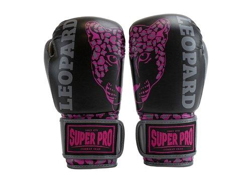 Super Pro Super Pro Bokshandschoenen Kids Leopard