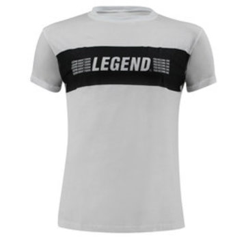 Legend T-Shirt wit Legends Aren't born, you become one -