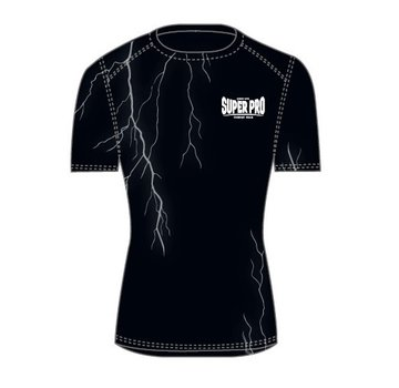 Compression Shirt Short Sleeve Thunder Zwart/Grijs