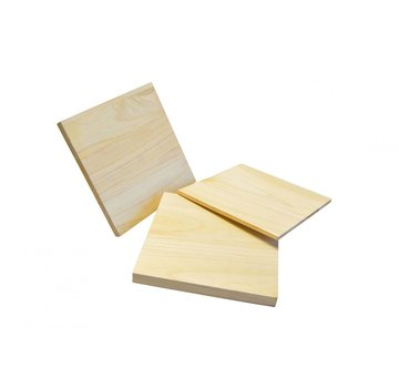 10 stuks houten breekplanken L30 x B30 Cm (6,10,15,20,25,30 mm dik)