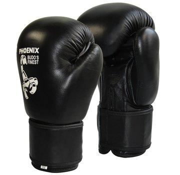 BUDO's FINEST bokshandschoenen, koeleder, zwart