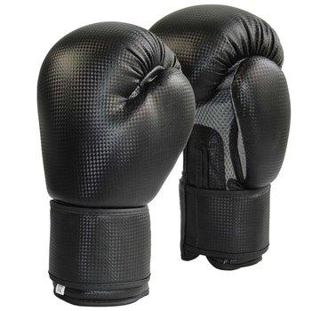 bokshandschoenen Carbon optic zwart-grijs Mesh