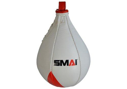 SMAI dubbel End Speedball, leder, oval 25 cm