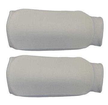 onderarm beschermers elastische wit