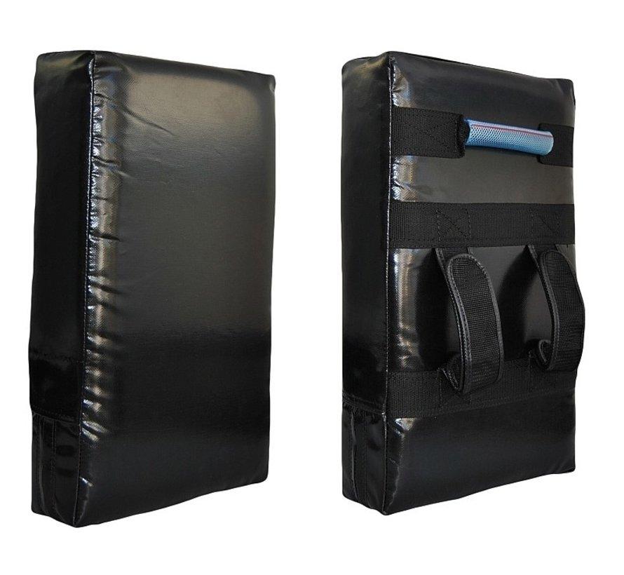 recht trapkussen 50 x 30 x 10cm, zwart PU