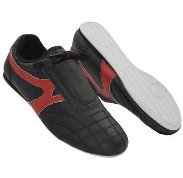 vechtsportschoenen, PU zwart