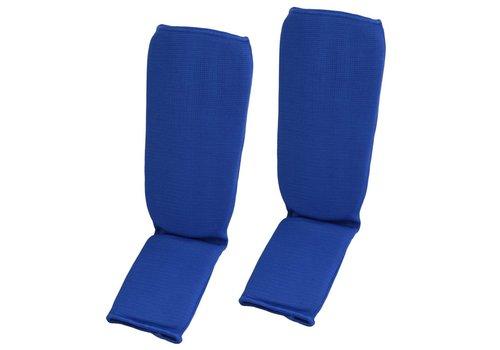 scheen-wreef beschermers, blauw