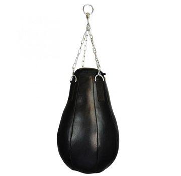 Maizeball, leder, gevuld, zwart ca 60x35cm