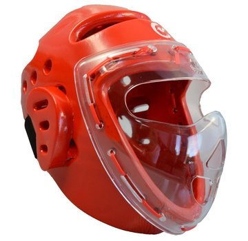 Wacoku Foam gelaatsbeschermer rood