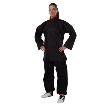 Kung Fu jas, zwart