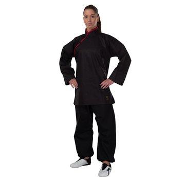 Phoenix Kung Fu jas, zwart