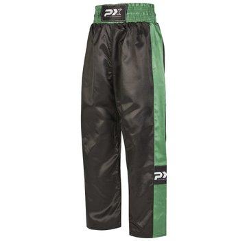 PX kickboksbroek TOPFIGHT, zwart-groene