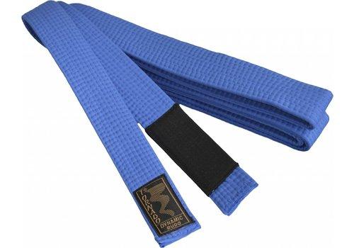 braziliaans jiu jitsu band, blauw met zwarte streep