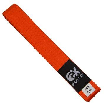 PX Budo kinder soepele vechtsportband, oranje