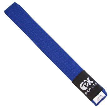 PX Budo kinder soepele vechtsportband, blauw