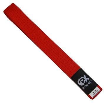 PX Budo kinder soepele vechtsportband, rood