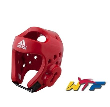 Adidas Taekwondo hoofdbeschermer rood
