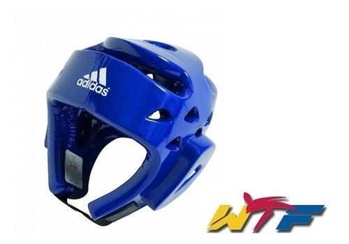 Adidas Taekwondo hoofdbeschermer blauw